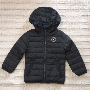 Lightweight boys puffer jacket